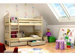 Paula 6 180x80 emeletes ágy