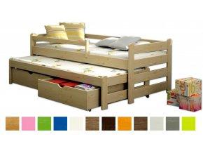 Veronika 1 180x80 ágyak vendégággyal