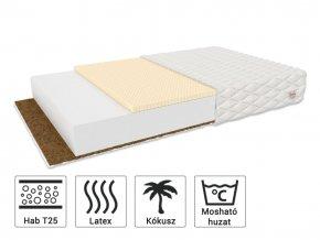 Pikolínó kókusz-latex matrac 200x90