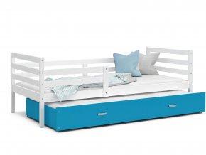 Racek P2 ágy pótággyal fehér mdf szín