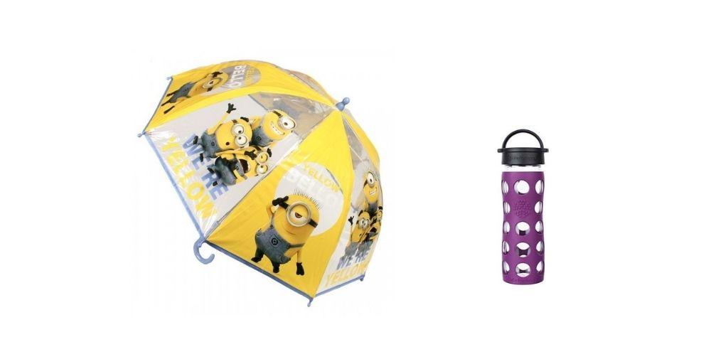 Zdravé lahve a deštníky