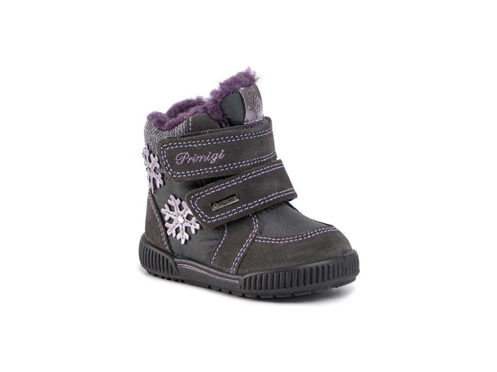 Zimní obuv Primigi 4369311 s Gore-Tex membránou