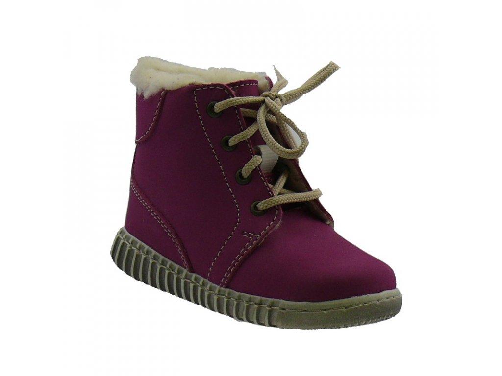 Zimní obuv Pegres 1705 růžová