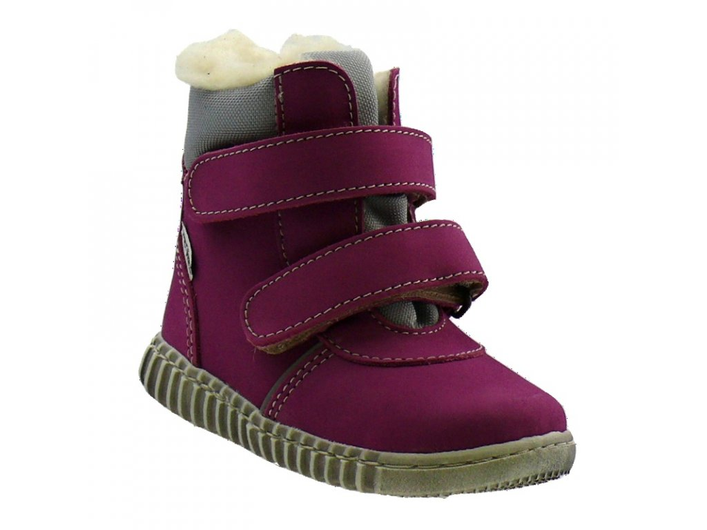 Zimní obuv Pegres 1706 růžová