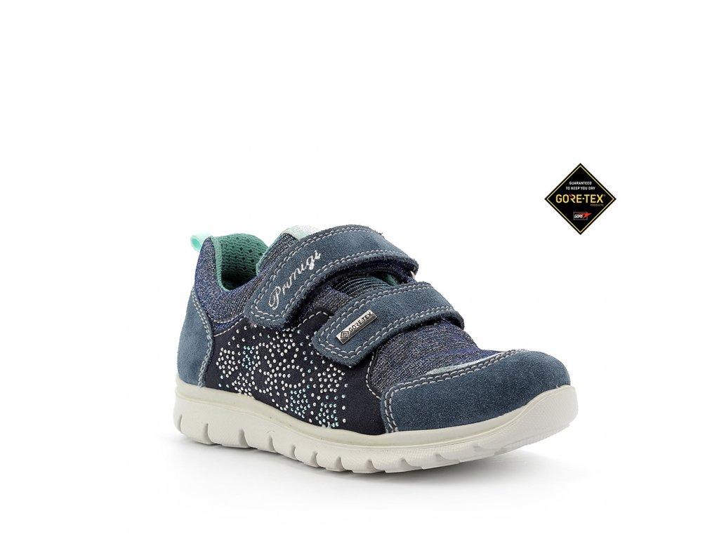 Celoroční kožená bota PRIMIGI 5373211s  Gore-Tex membránou