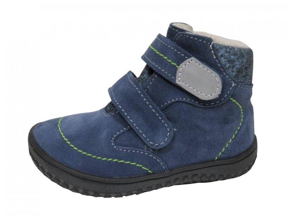 Zimní obuv Jonap B5SV modrá s membránou