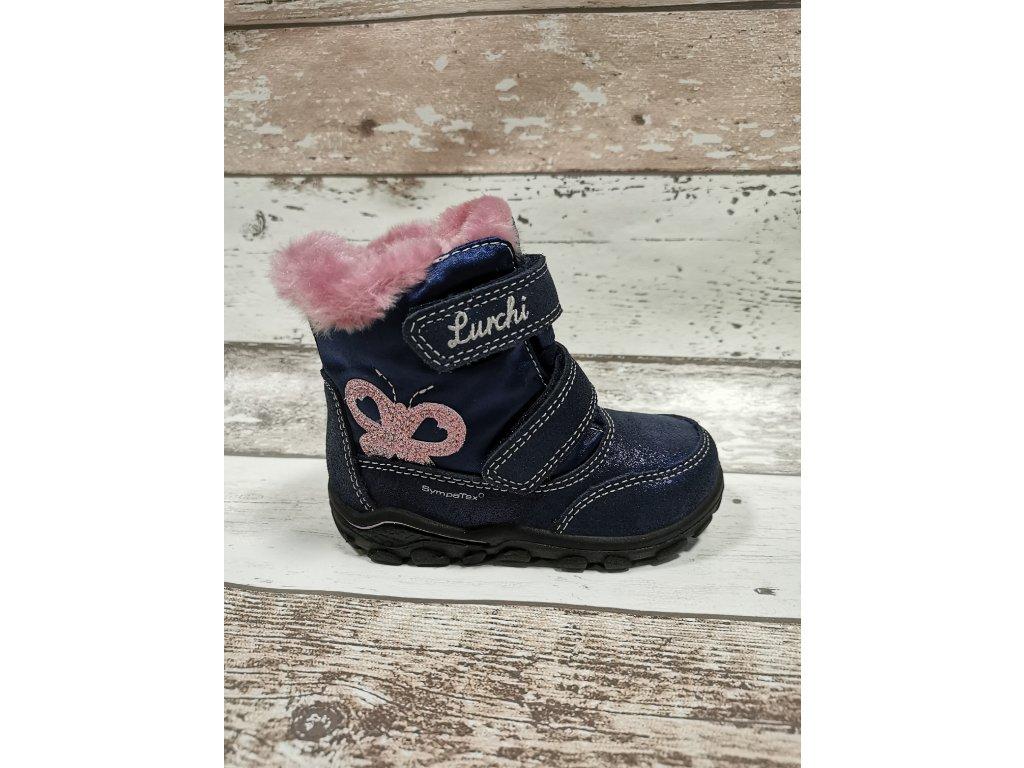 Zimní obuv Lurchi 33-33014-32 s membránou SympaTex