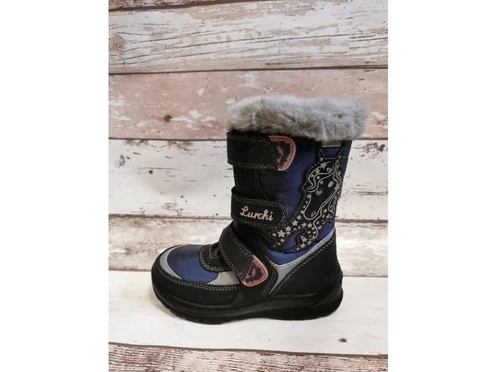 Zimní obuv Lurchi 33-31051-32 se SympaTex membránou blikací