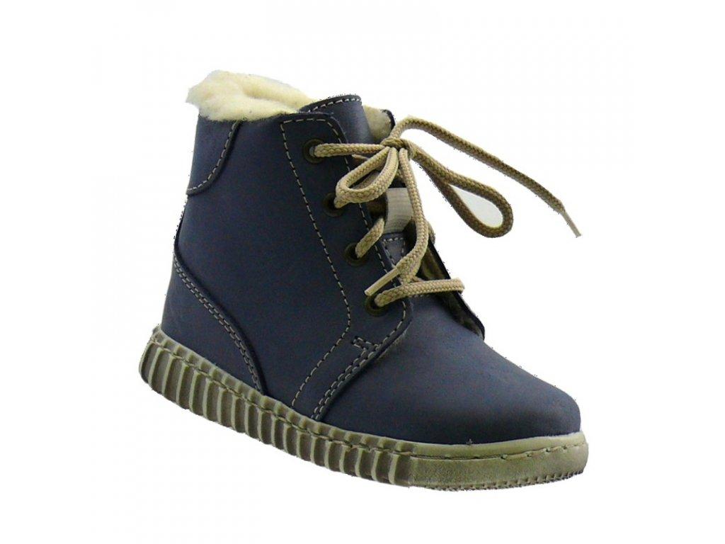 Zimní obuv Pegres 1705 modrá