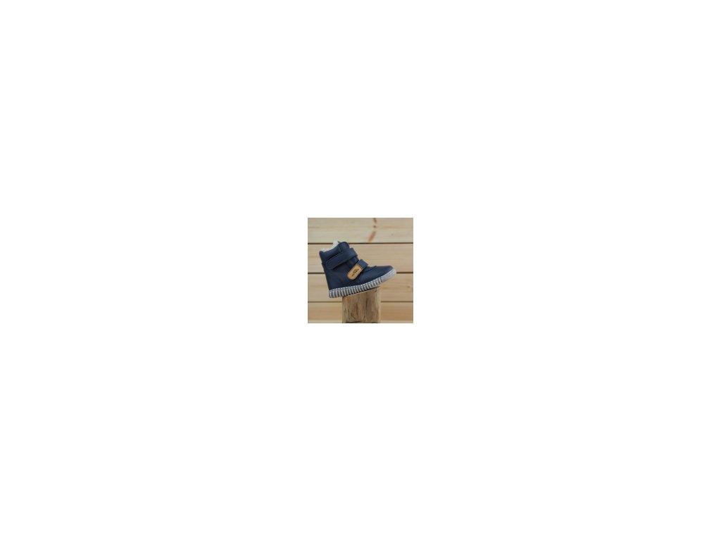 Zimní obuv Pegres B1706 modrá