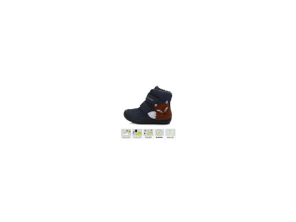 Zimní obuv D.D.Step 063-910M barefoot