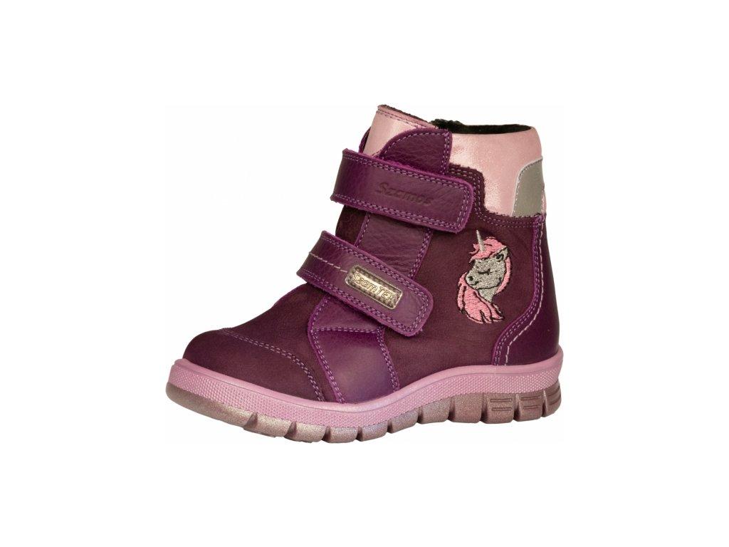 Zimní obuv Szamos 1571-480622 membránová