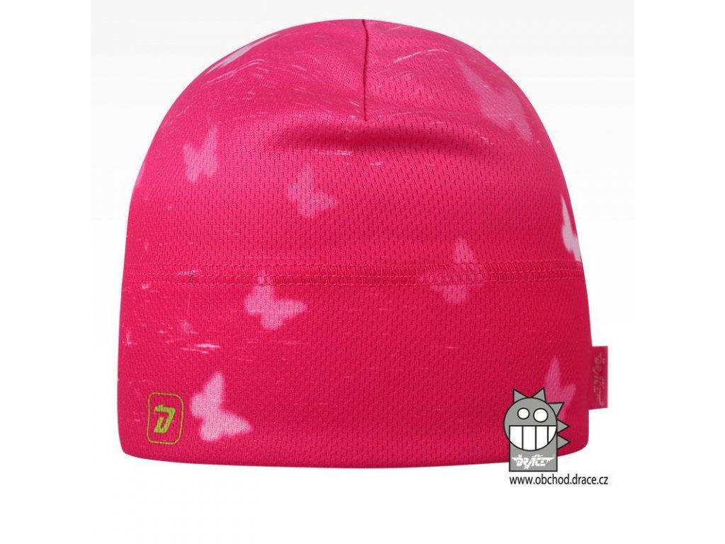 ružová motýli