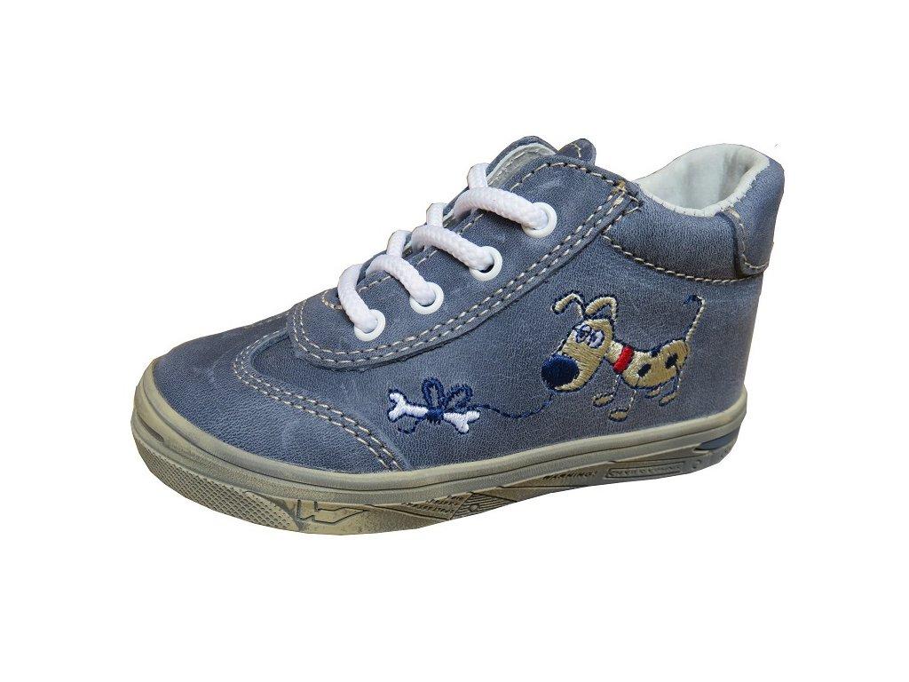 Celoroční obuv Jonap 011M pes modrá