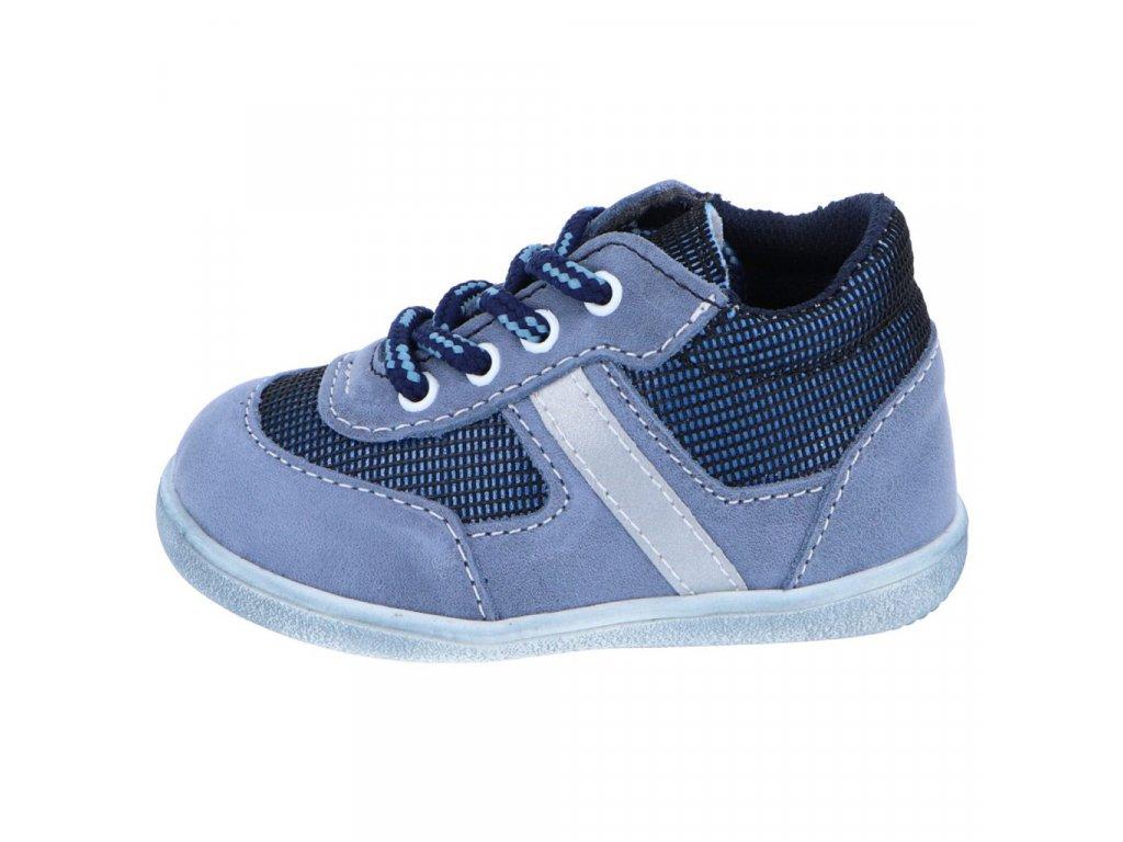 Celoroční barefoot obuv Jonap 051M modrá