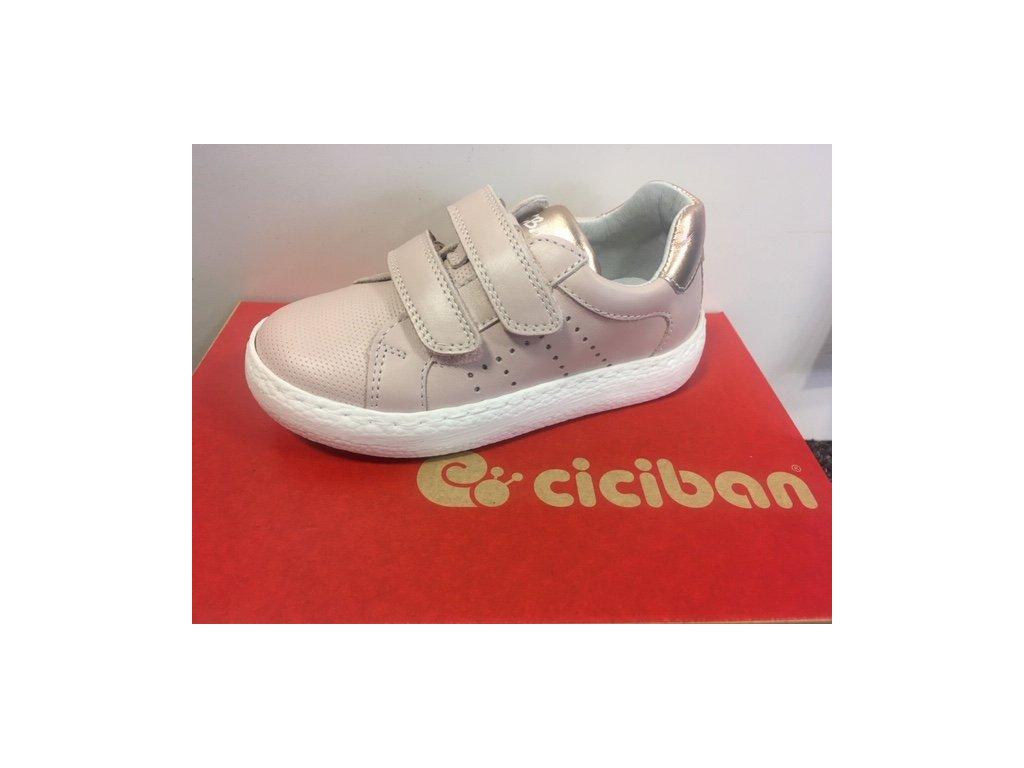 Celoroční kožená bota Ciciban 301635 Shila Rosa