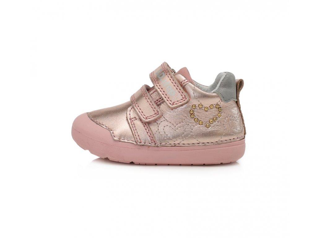 Celoroční obuv D.D.Step 066-440 Metallic Pink