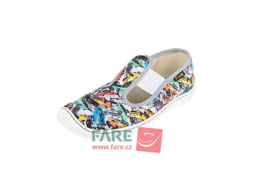 Fare Bare papuče na gumičku 5201402