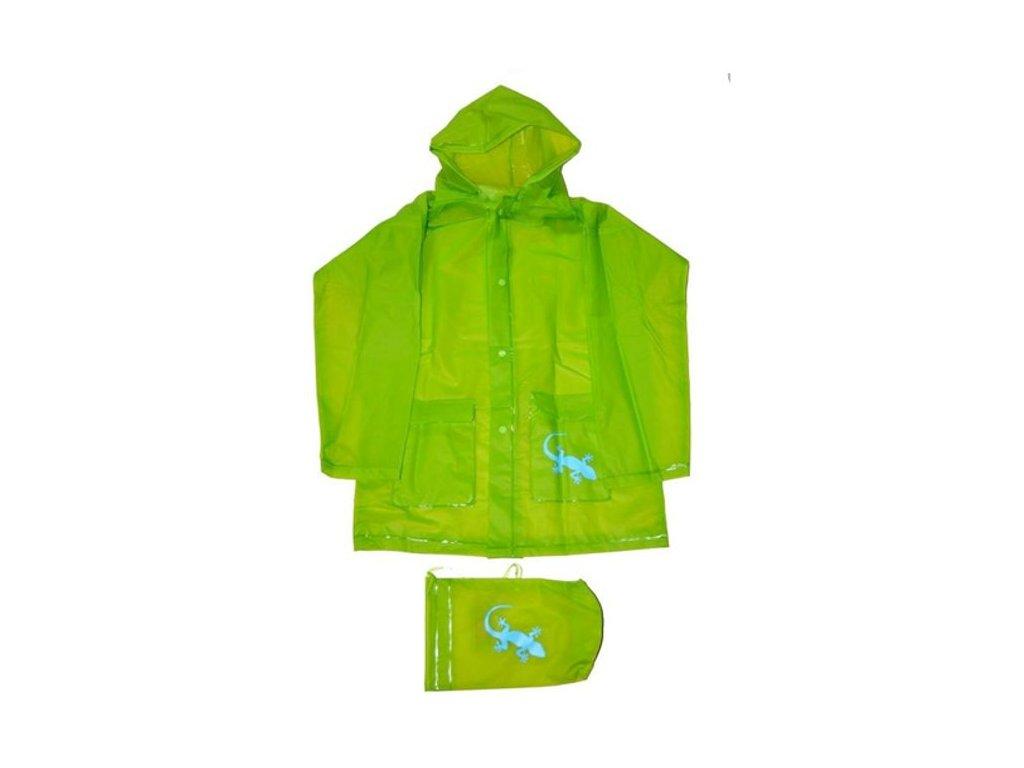 Pláštěnka Pidilidi PL0045-19 zelená + pytlík