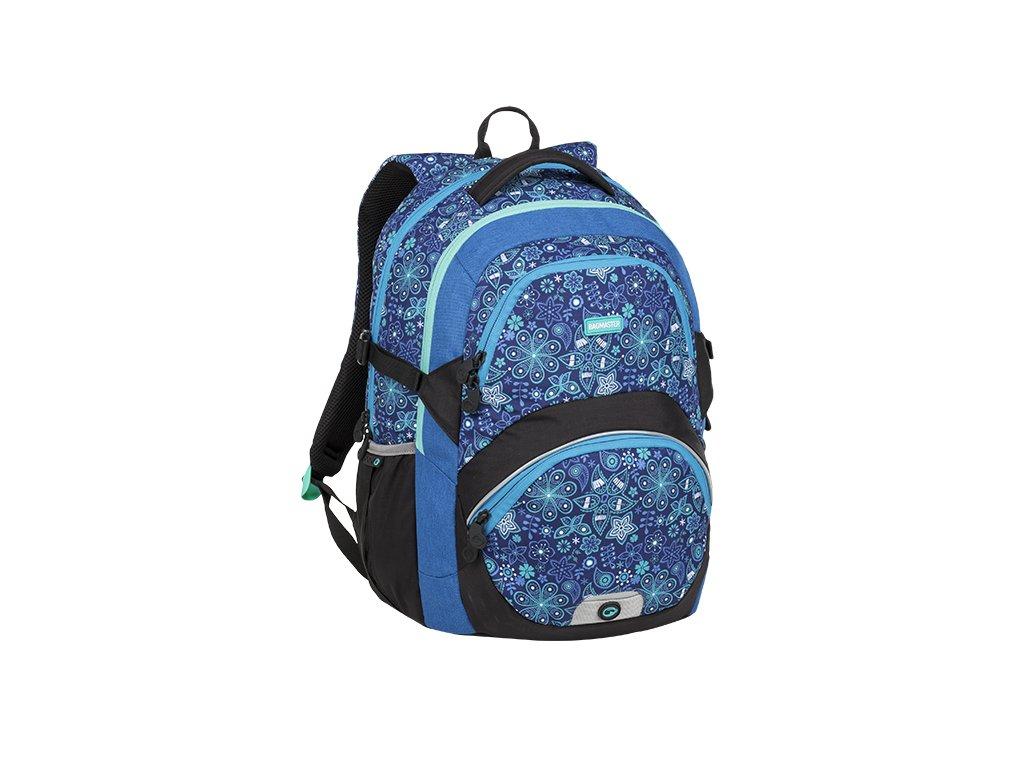 Školní batoh BAGMASTER THEORY 9 C BLUE/BLACK