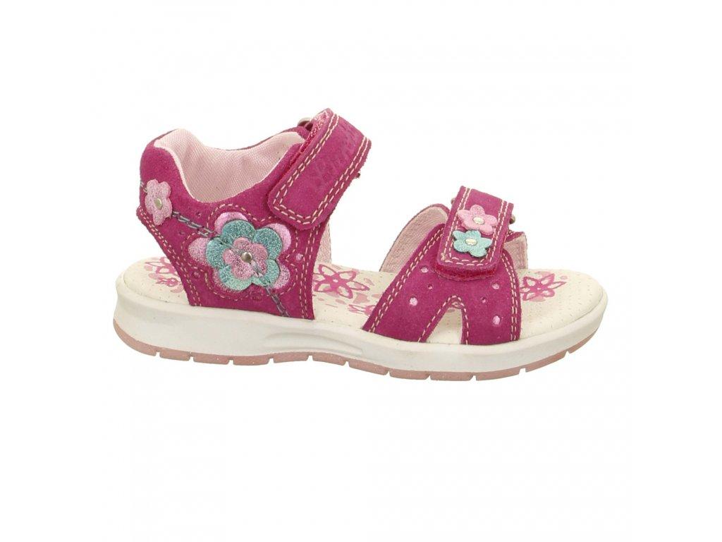 Letní sandálky Lurchi 33-22901-23 DELIA pink