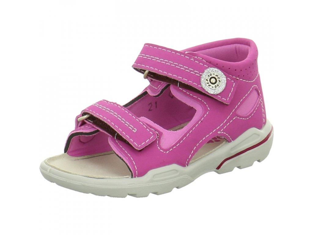 Letní sandálky Ricosta 3221500/345 MANTI candy/peony