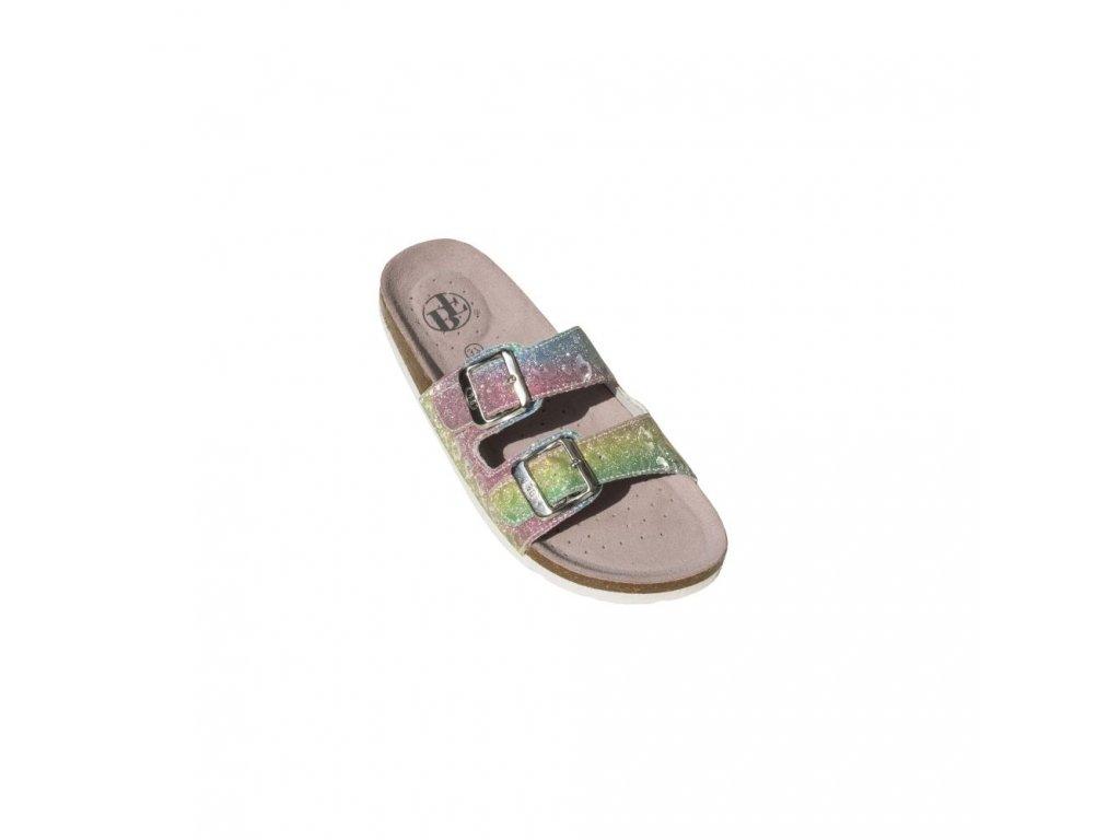BF domácí obuv/pantofle BY213-11-10 Rainbow