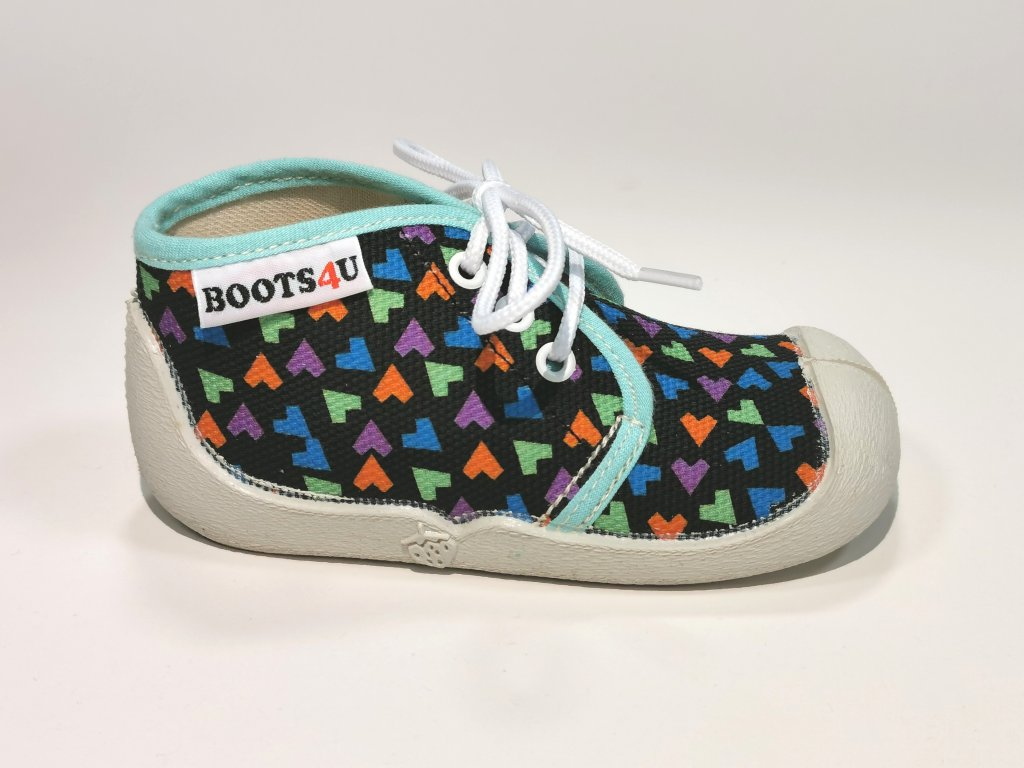Boots4u T015 modrá potisk