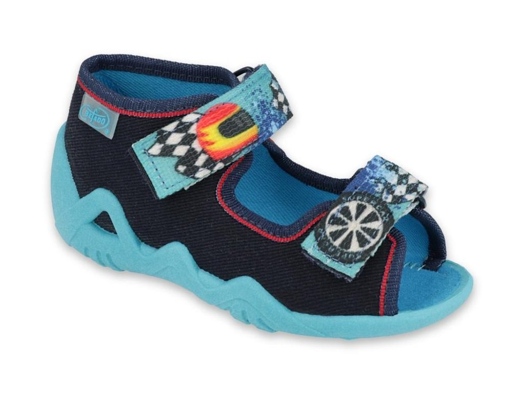 29654 1 250p095 18 chlapecke sandalky 2sz modre supercar