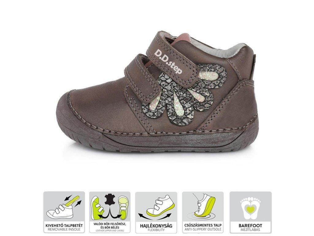 Celoroční bota D.D.Step S070-80A Bronze