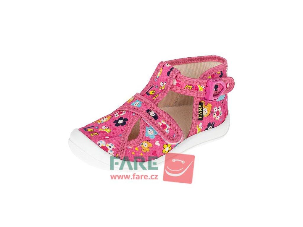 Domácí papučka Fafe 4119442 růžová