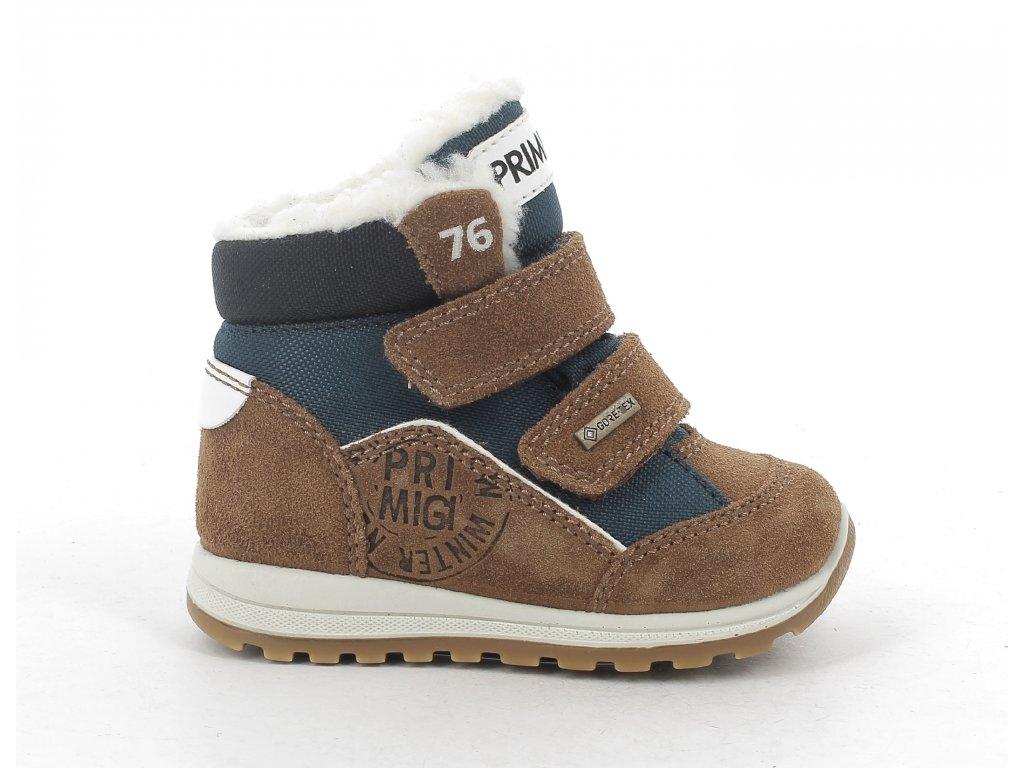 Zimní obuv Primigi 8354000 s GoreTex membránou