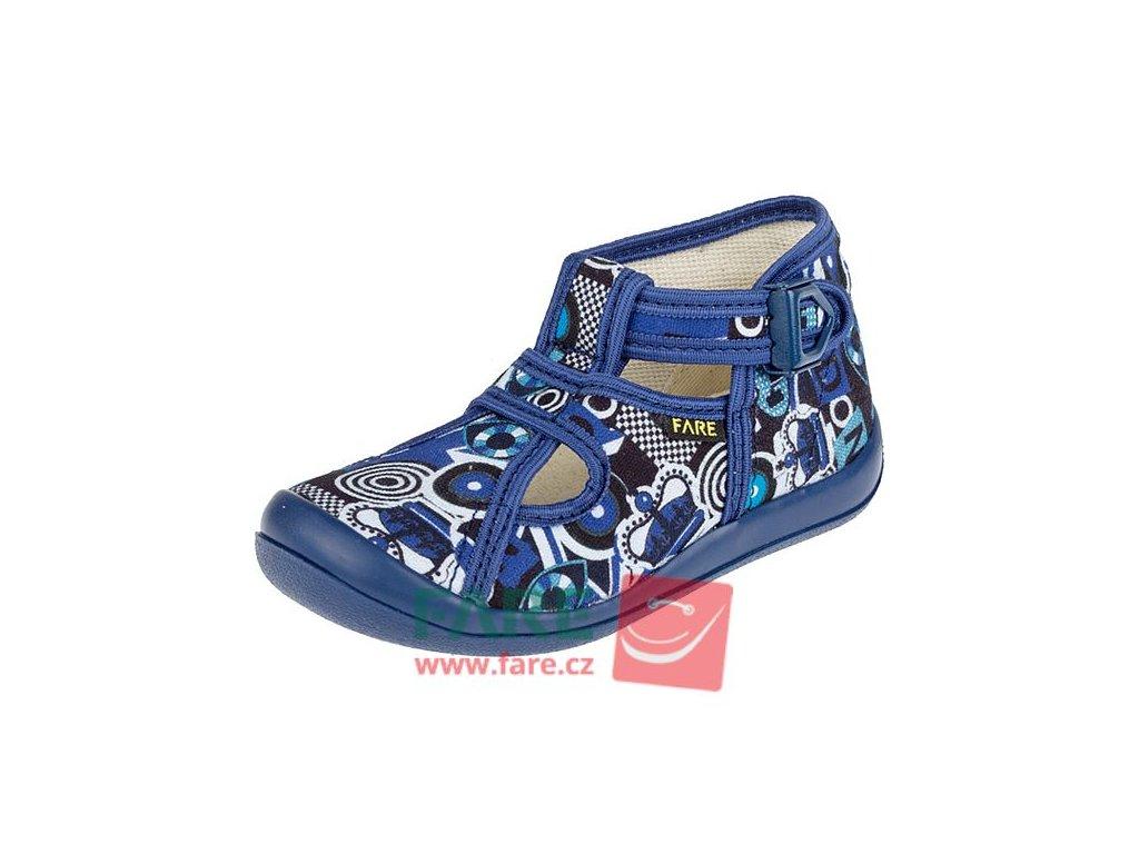 Dětské papuče na přezku 4114401