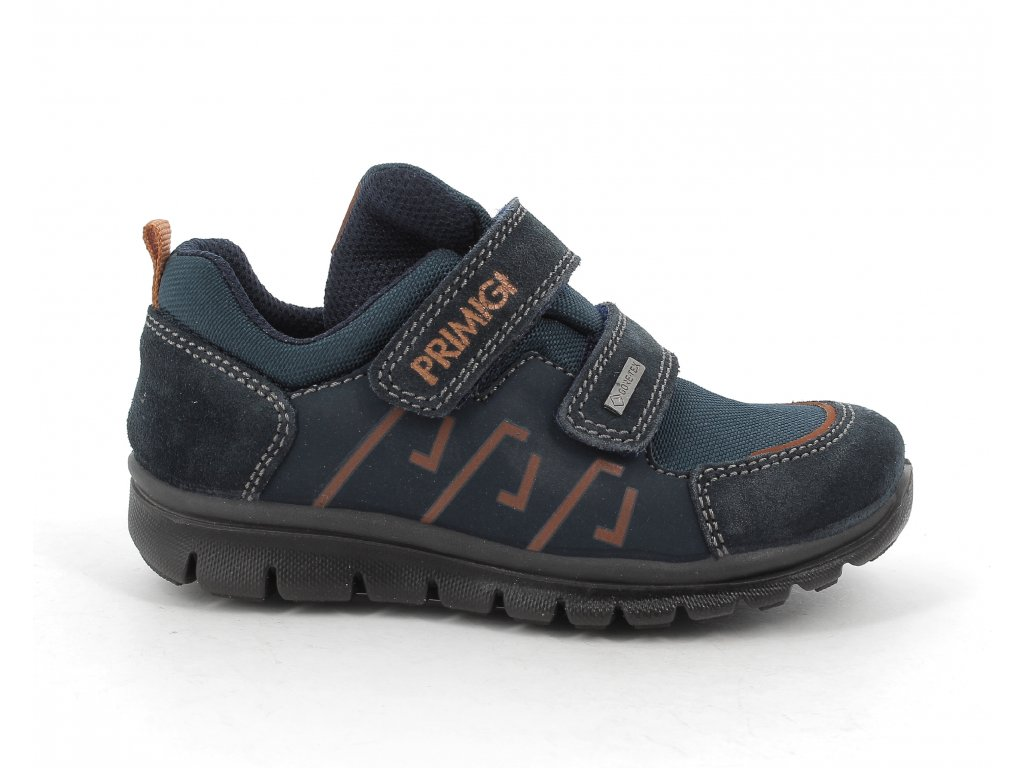 Celoroční kožená bota PRIMIGI 8385700 s Gore-Tex membránou