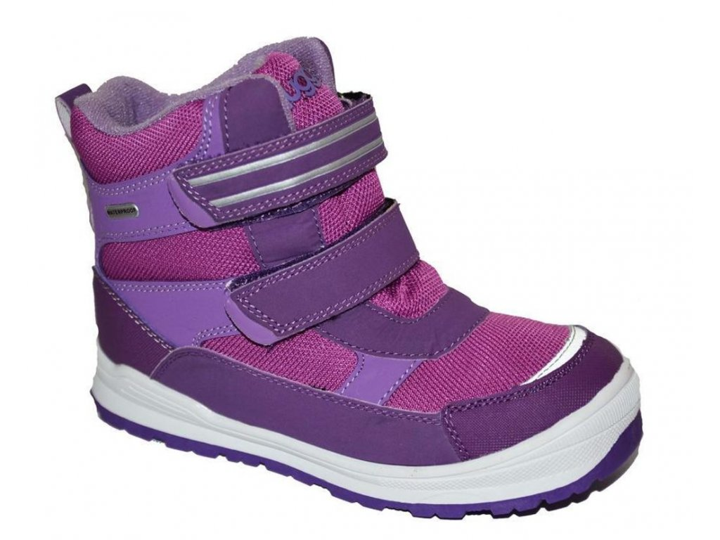 Zimní obuv BUGGA B081 violet