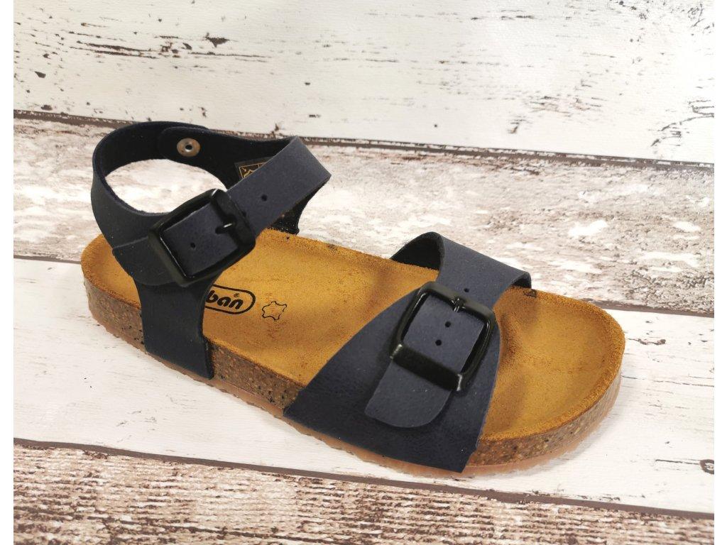 Letní kožený sandálek Ciciban Bio 305019