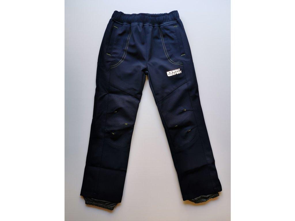 Softshellové kalhoty B2083 modrá