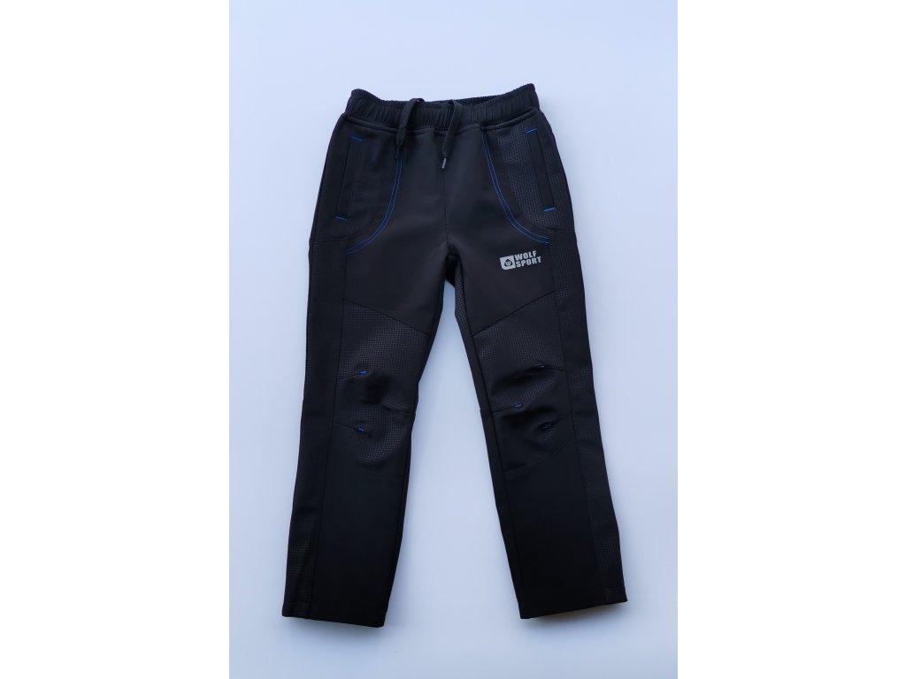 Softshellové kalhoty B2083 černá