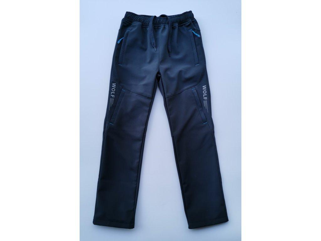 Softshellové kalhoty B2084 šedá