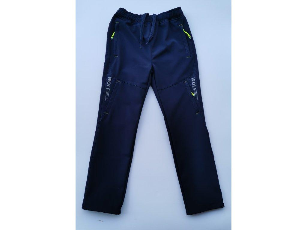 Softshellové kalhoty B2084 modrá