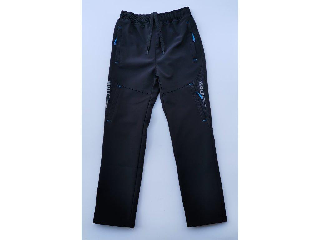 Softshellové kalhoty B2084 černá