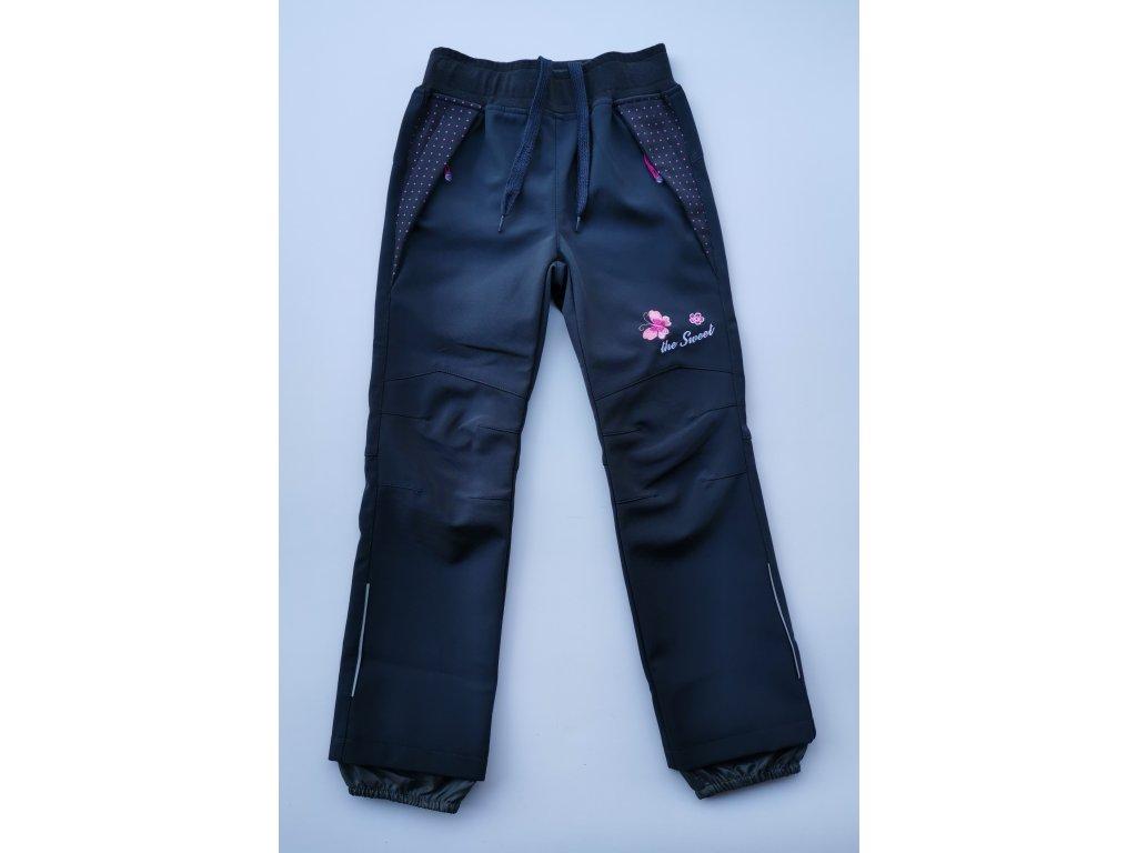 Softshellové kalhoty B2082 šedá