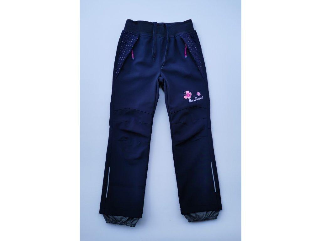 Softshellové kalhoty B2082 modrá