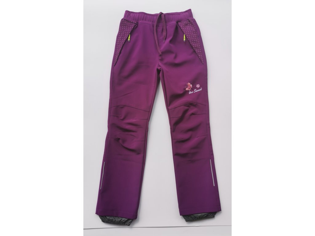 Softshellové kalhoty B2082 růžová