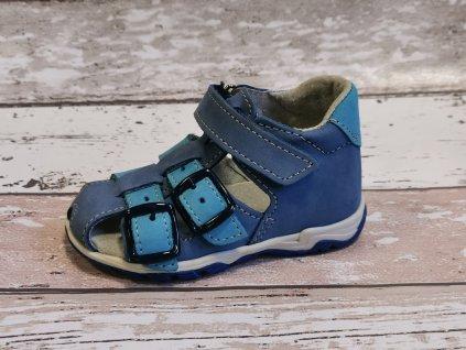 Letní sandálek Jonap 013N tyrkys
