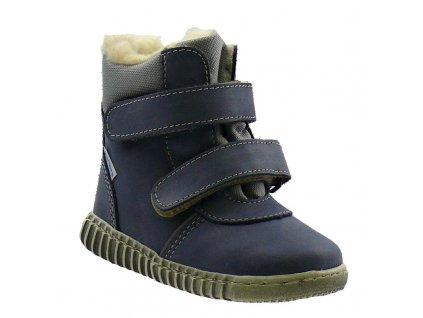 Zimní obuv Pegres 1706 modrá
