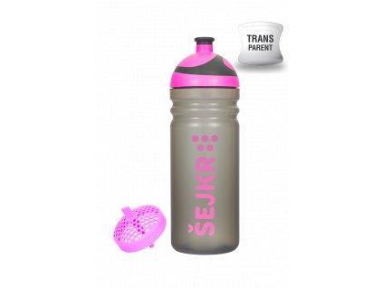 Zdravá lahev Šejkr růžový 0,5l