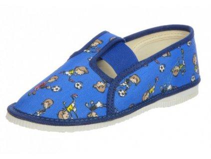 Chlapecká domácí obuv, papučky Čechtín 555