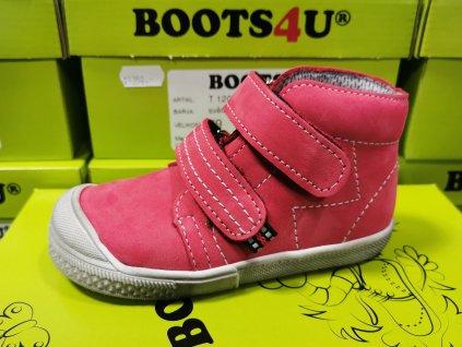 Celoroční obuv Boots4u T120V sv. červená