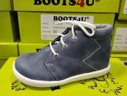 Celoroční obuv Capáčky Boots4u T021 modrá